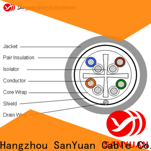 eco-friendly cat6 lan cable directly sale for internet