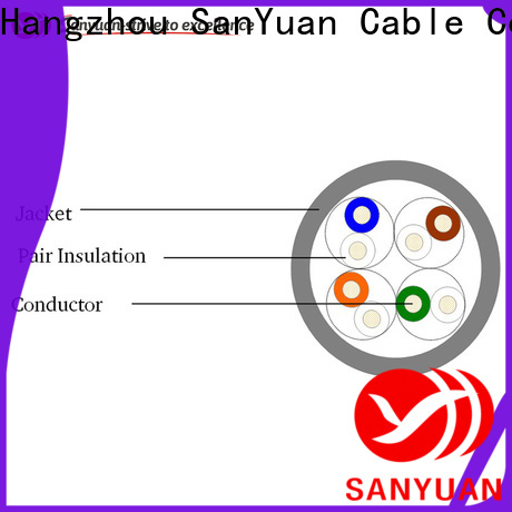 long lasting category 5e lan cable manufacturer for internet