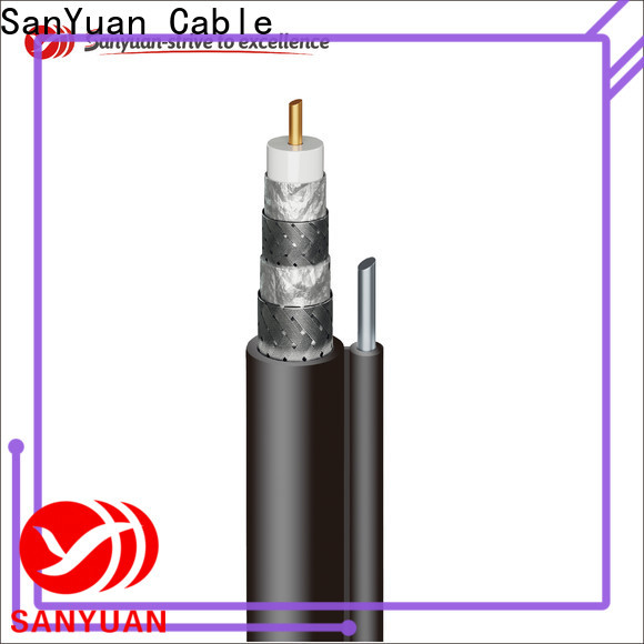 SanYuan cheap 75 ohm coaxial cable supply for data signals
