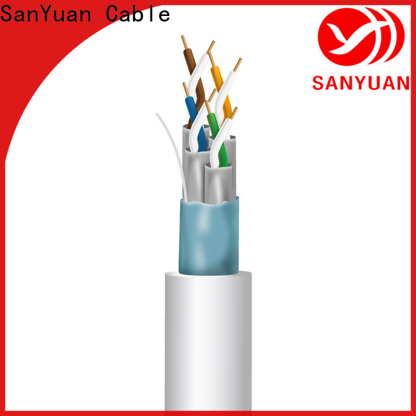 SanYuan cat 7 cable manufacturer for data transfer