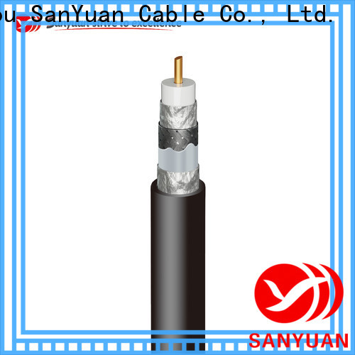 easy to expand 75 ohm cable supply for digital video