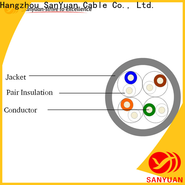long lasting category 5e lan cable supplier for routers