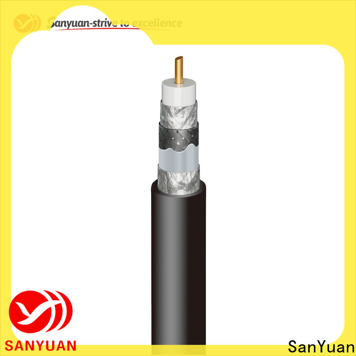 SanYuan latest 75 ohm coaxial cable supply for satellite