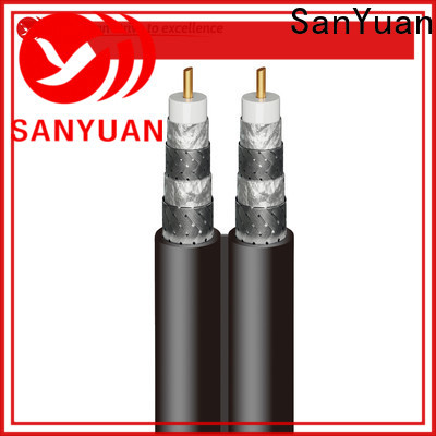 SanYuan easy to expand 75 ohm coax factory for digital audio
