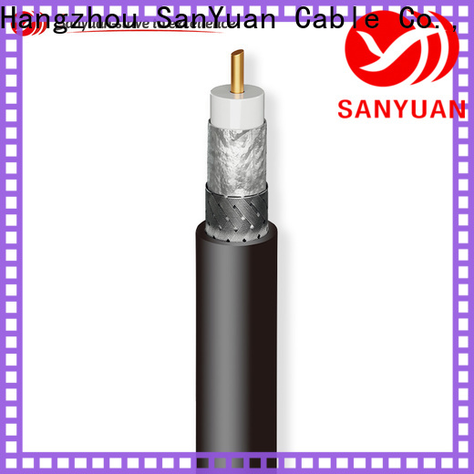 SanYuan strong 50 ohm coax manufacturer for broadcast radio