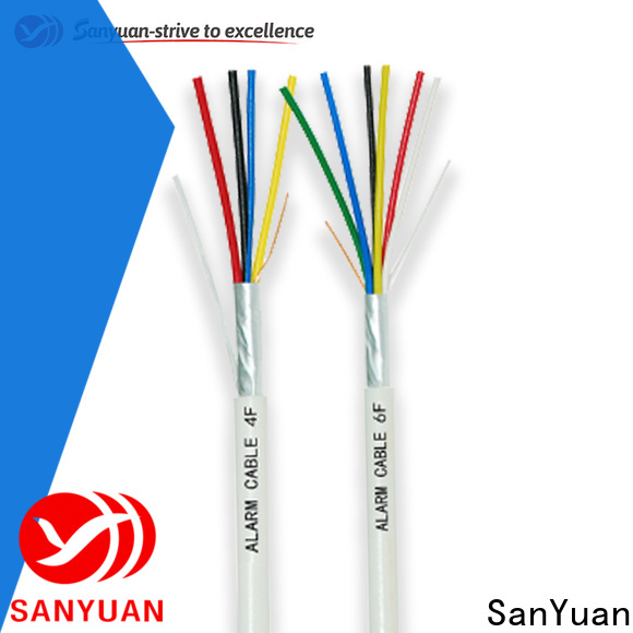 SanYuan fire alarm network cable company for smoke alarms