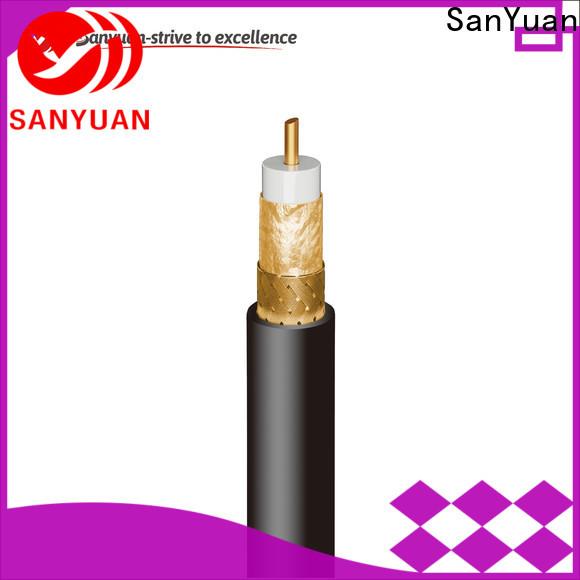 SanYuan 75 ohm coax company for digital video