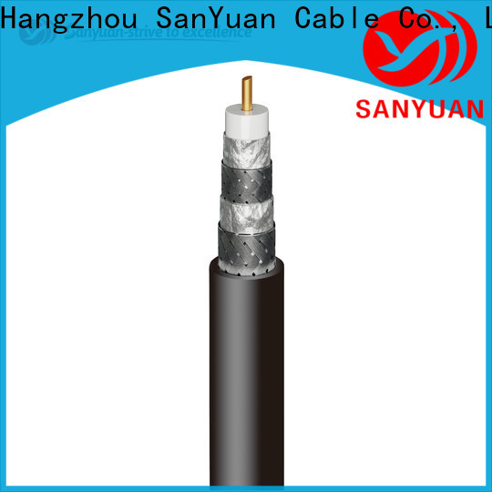 SanYuan latest cable coaxial 75 ohm factory for HDTV antennas