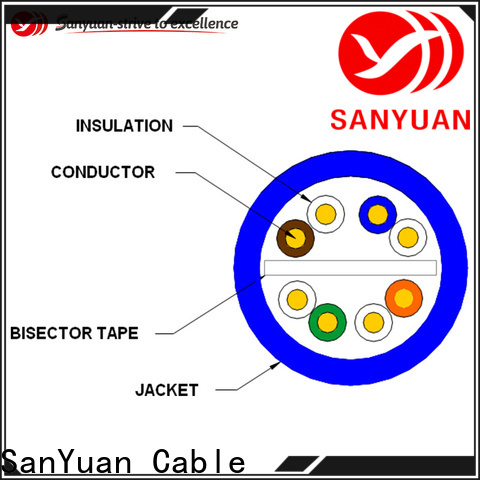 SanYuan cat 6 cable series for internet
