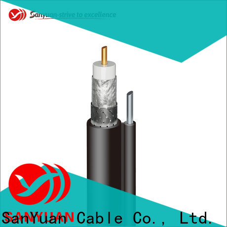 SanYuan reliable cable coaxial 75 ohm supply for digital video
