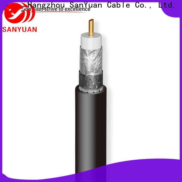 SanYuan cost-effective coax cable 50 ohm wholesale for walkie talkies