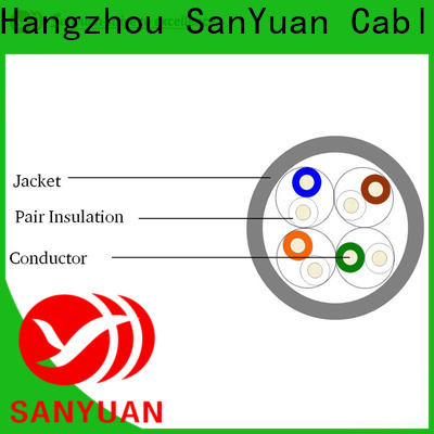 SanYuan cable cat 5e directly sale for computers