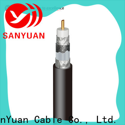 SanYuan 75 ohm cable factory for digital audio