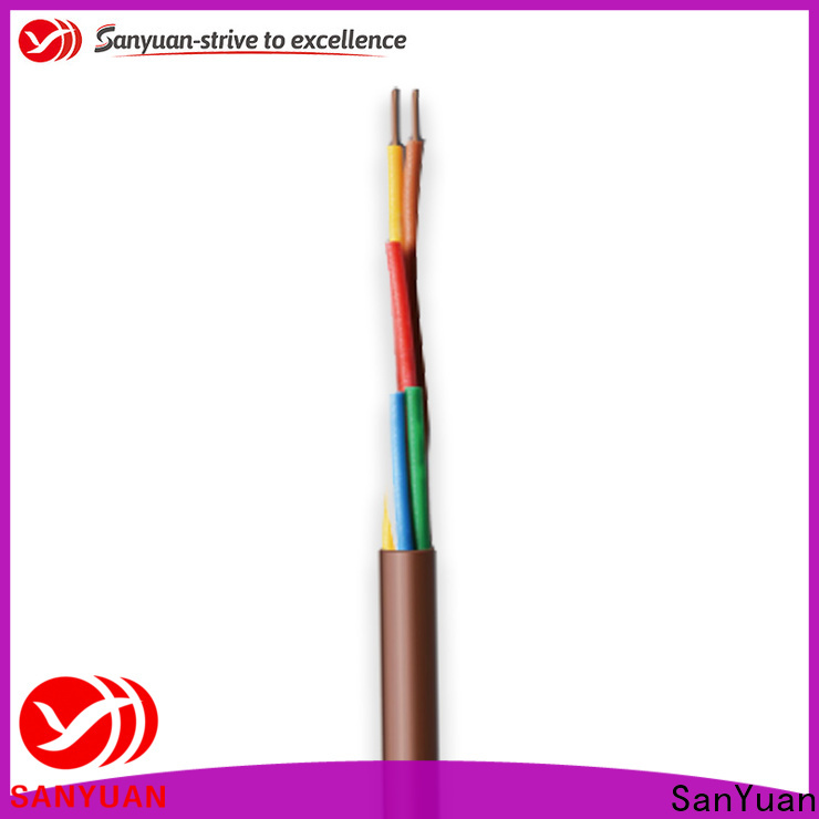 SanYuan high-quality thermostat wire factory for signal systems