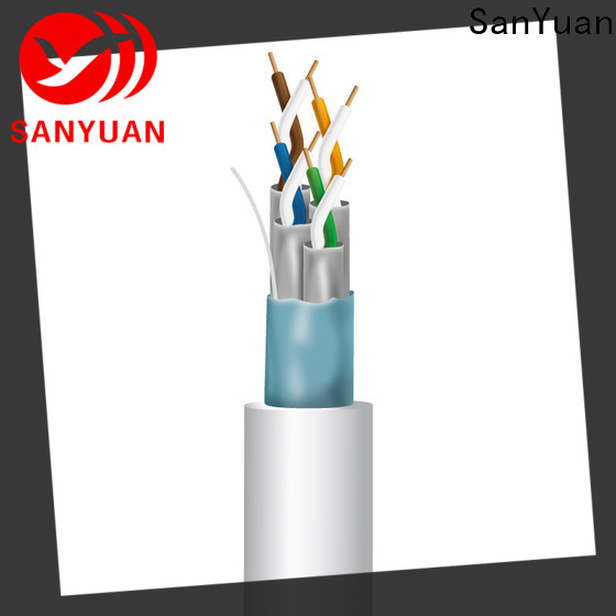 SanYuan new cat 7 lan cable directly sale for data transfer