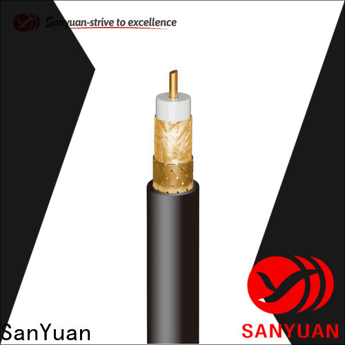 SanYuan reliable 75 ohm coax suppliers for satellite