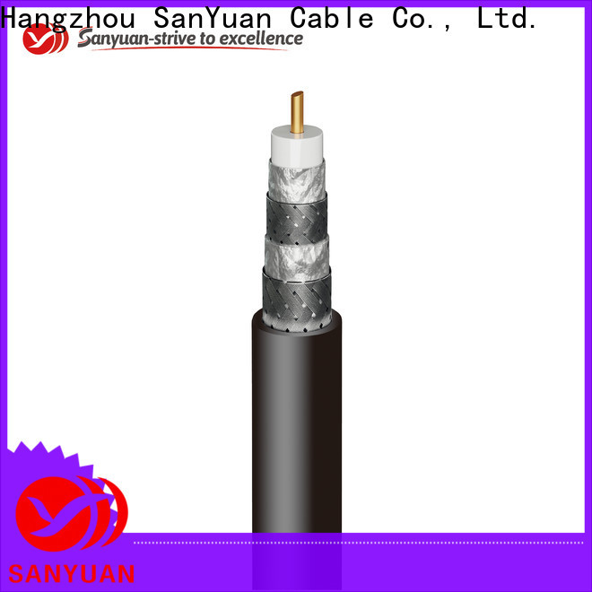SanYuan top 75 ohm coaxial cable factory for digital video