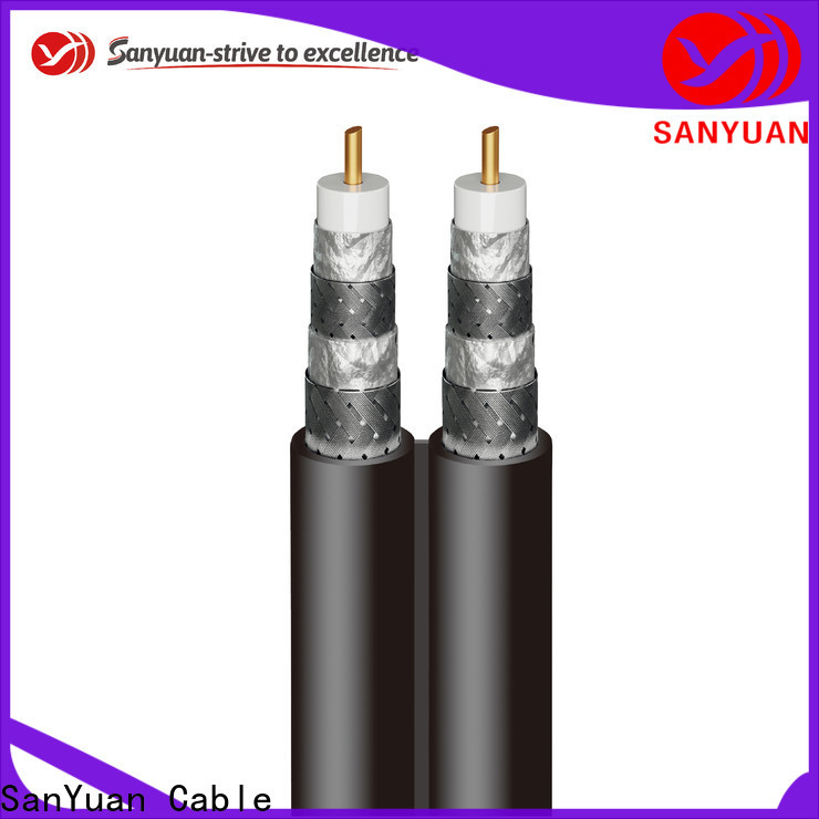 SanYuan top 75 ohm coaxial cable suppliers for HDTV antennas