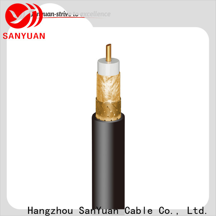SanYuan top 75 ohm cable manufacturers for data signals
