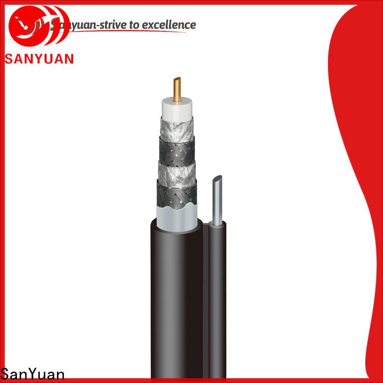SanYuan 75 ohm coax company for HDTV antennas