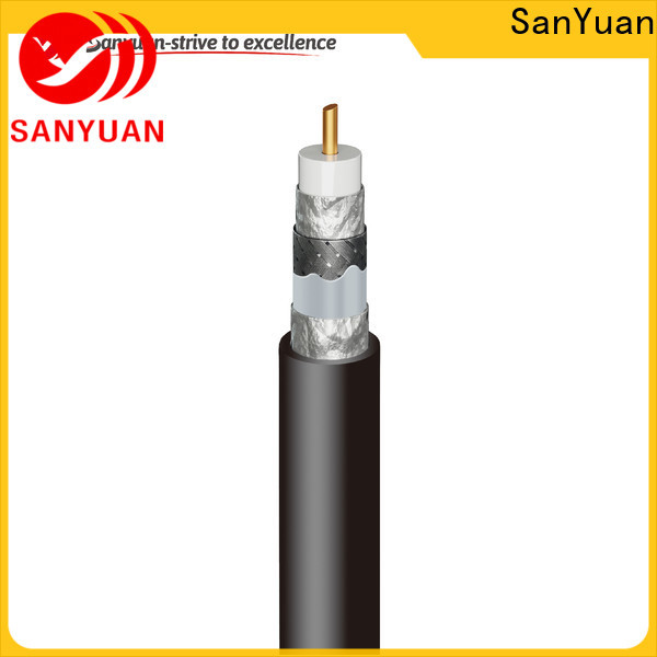 SanYuan top cable coaxial 75 ohm company for digital audio