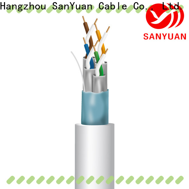 SanYuan high speed cat 7 ethernet cable supplier for data transfer