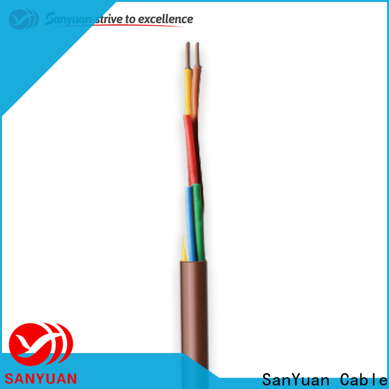SanYuan thermostat cable suppliers for heating and air conditioning installations