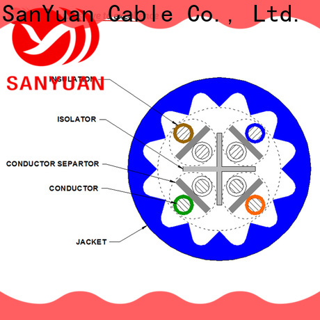SanYuan cat6a ethernet cable directly sale for data network