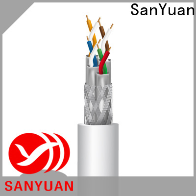 SanYuan best cat 7a cable manufacturers for data transfer