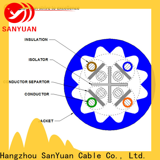popular cat6a lan cable series for data communication