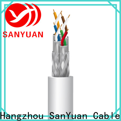 SanYuan best cat 7a ethernet cable supply for railway
