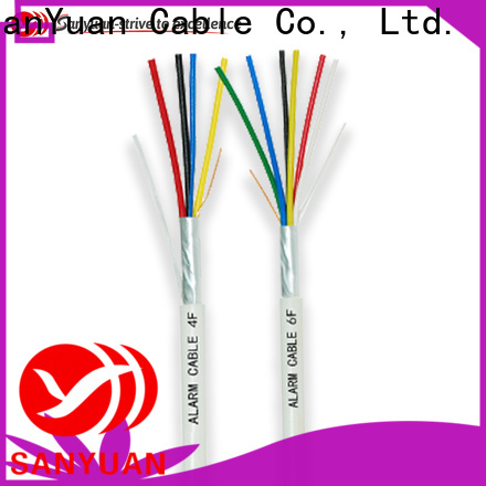 SanYuan fire alarm wire manufacturers for smoke alarms