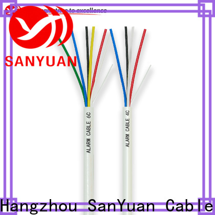 SanYuan alarm cable factory for burglar alarms