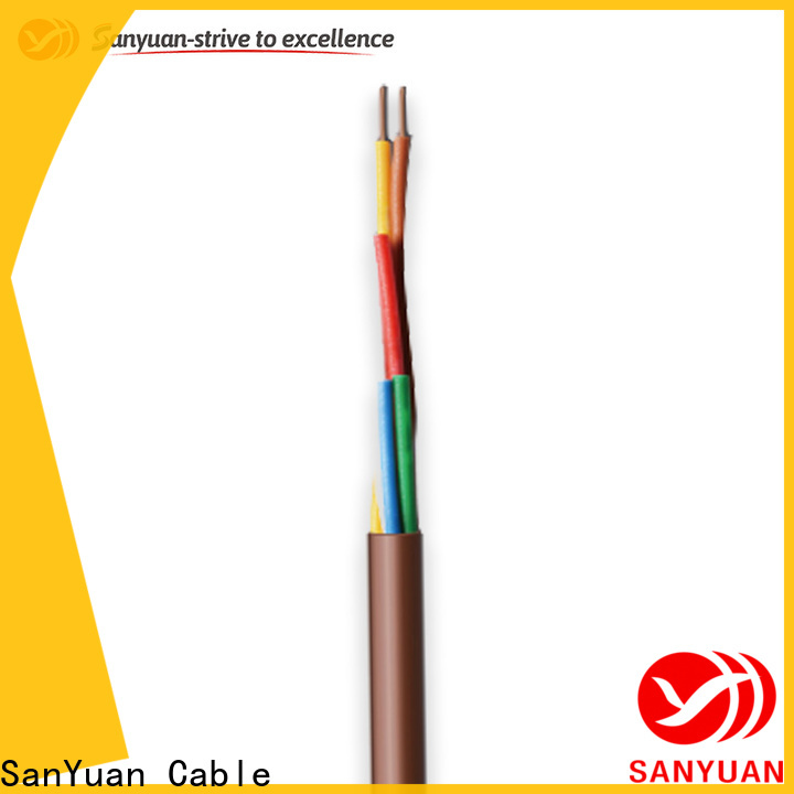SanYuan best thermostat wire supply for thermostat control