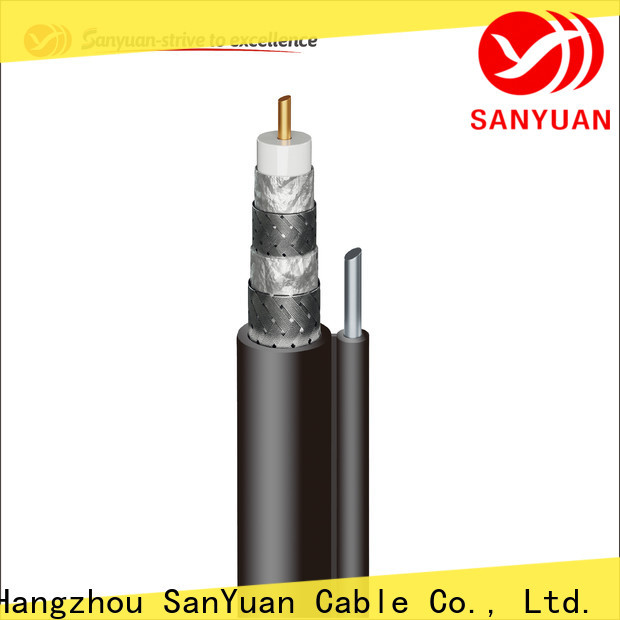 SanYuan long lasting cable coaxial 75 ohm suppliers for satellite