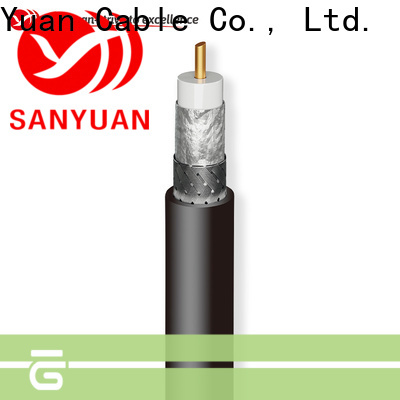 strong 50 ohm coaxial cable supplier for TV transmitters