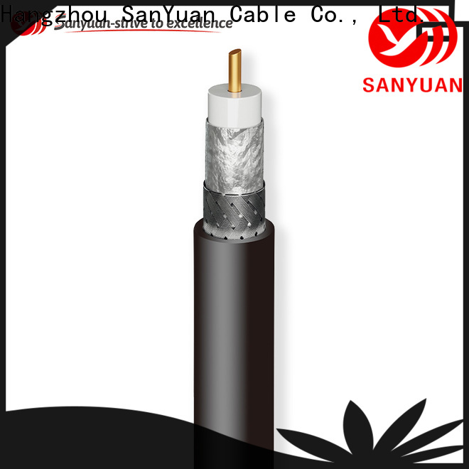 SanYuan stable 50 ohm coaxial cable series for broadcast radio