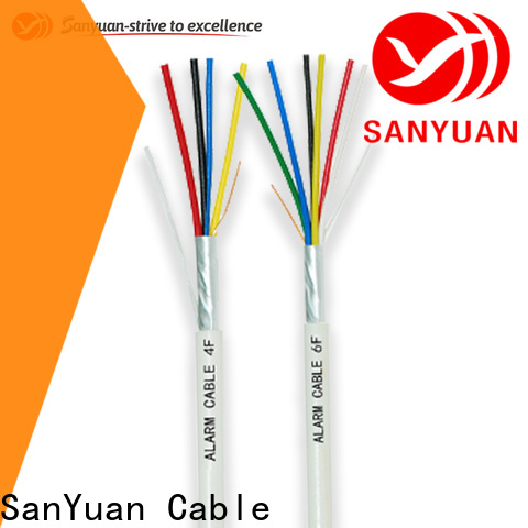 SanYuan wholesale fire alarm wire supply for smoke alarms