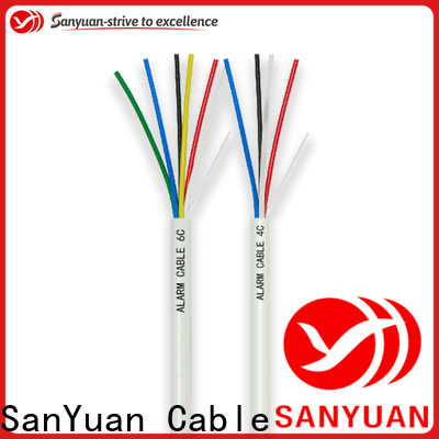 SanYuan top alarm cable factory for video surveillance