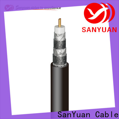 SanYuan cable coaxial 75 ohm factory for data signals