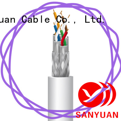 SanYuan cat 7a cable supply for railway
