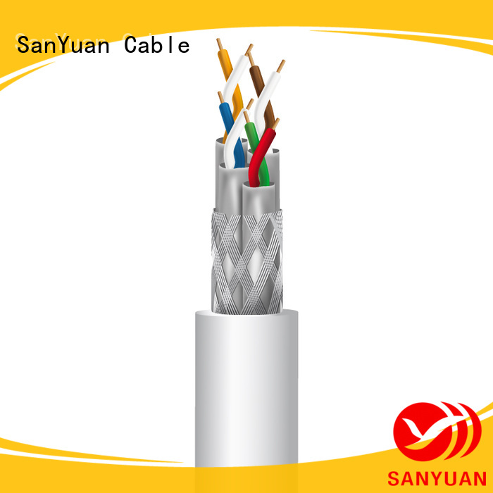 SanYuan wholesale cat 7a ethernet cable company for railway