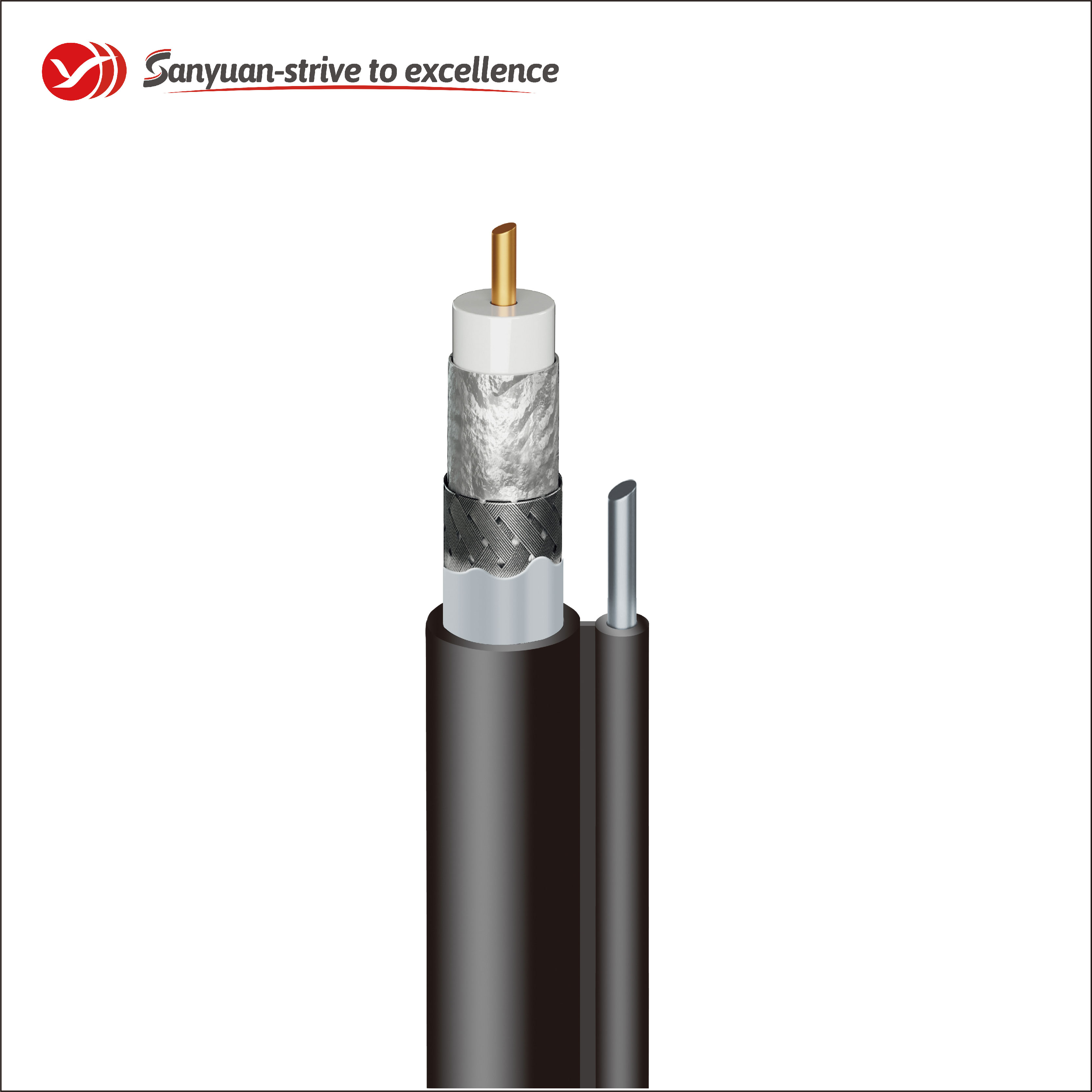 SanYuan cable coaxial 75 ohm suppliers for HDTV antennas-1