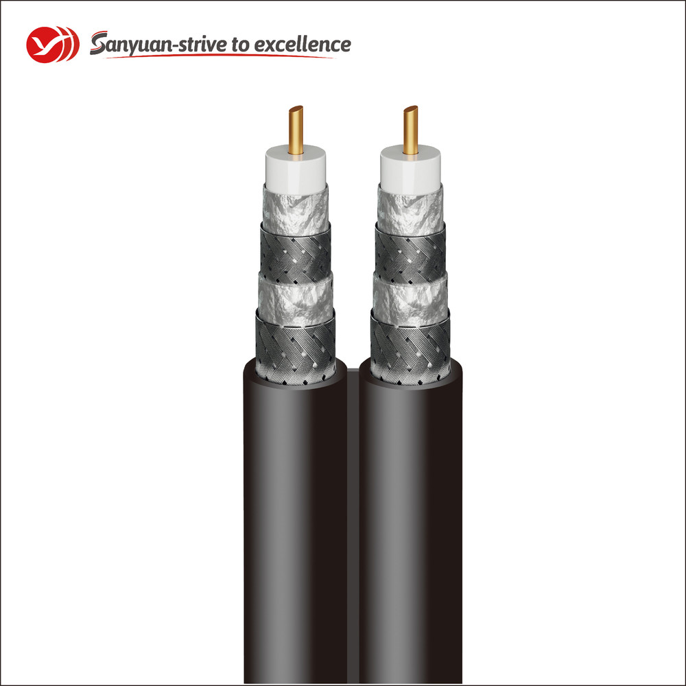 RG6 Coax Cable 75 Ohm Coaxial Drop Cable SYRG6SSVV