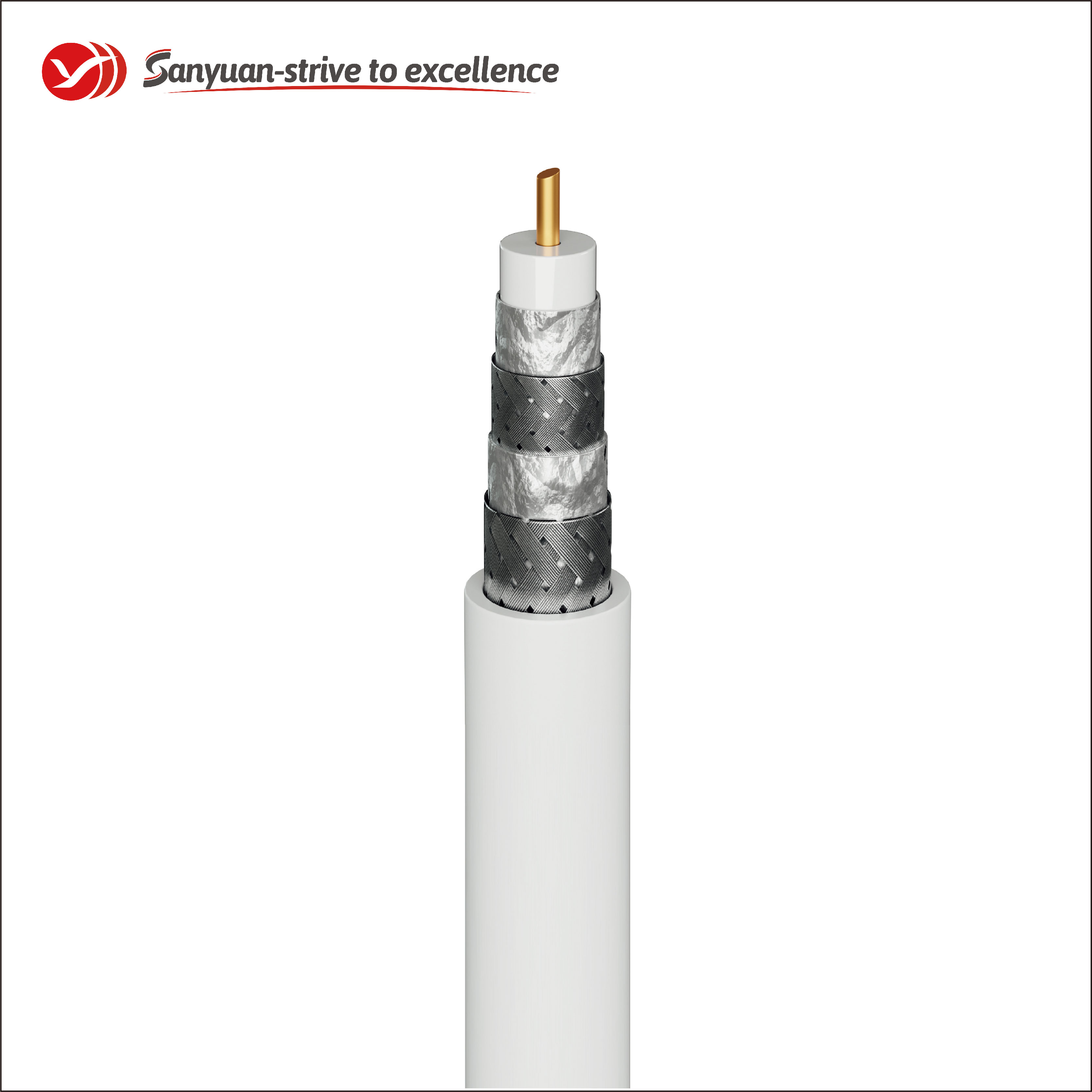 SanYuan cable 75 ohm manufacturers for satellite-2
