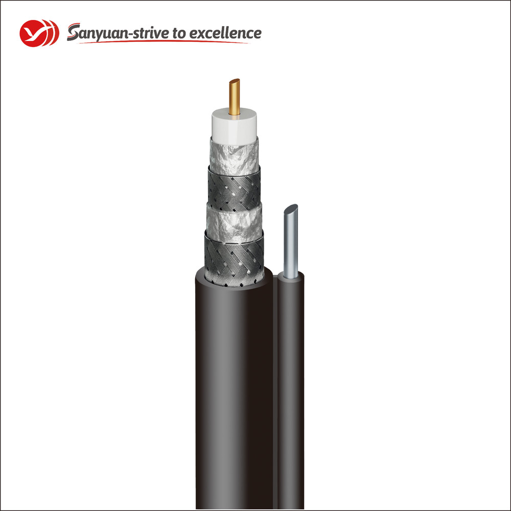 75 Ohm Coaxial Drop Cable RG6 TV Cable SYRG6SSVM