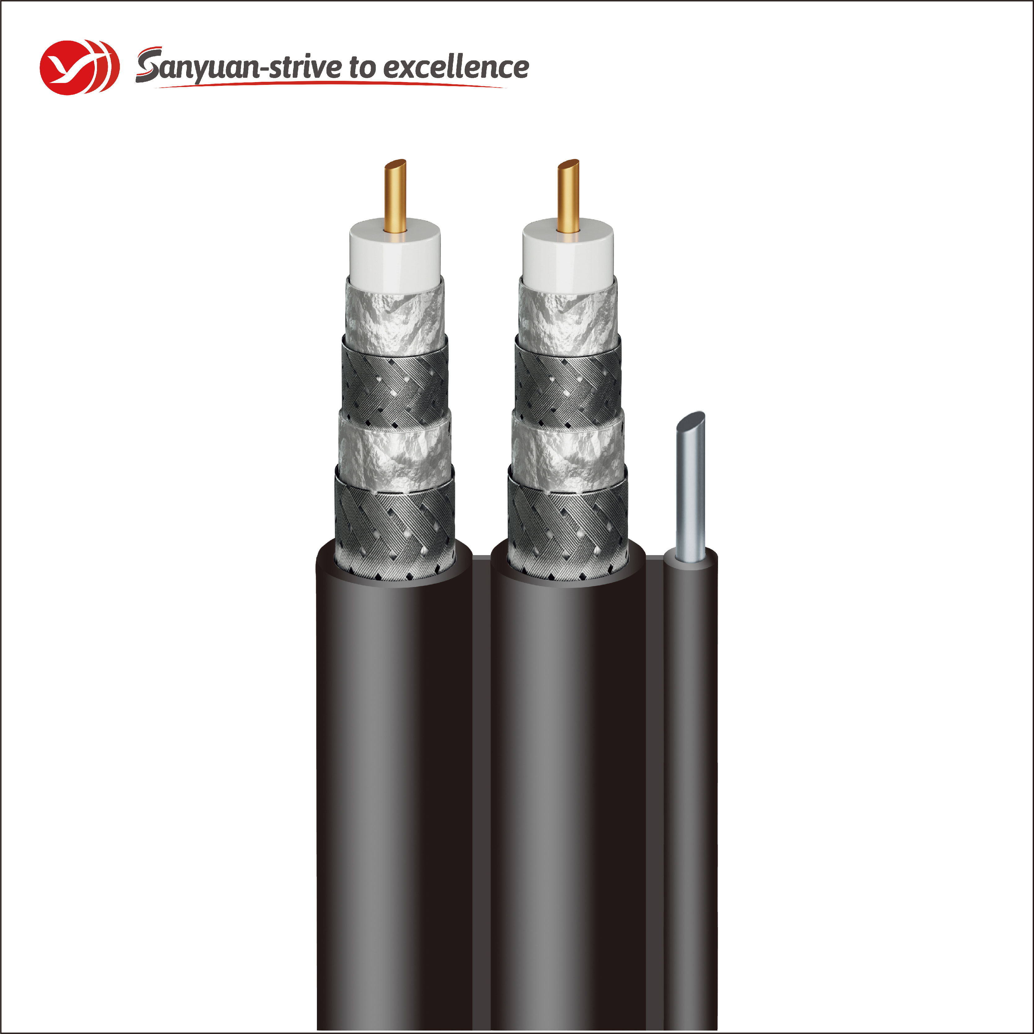 SanYuan cable coaxial 75 ohm factory for HDTV antennas-1