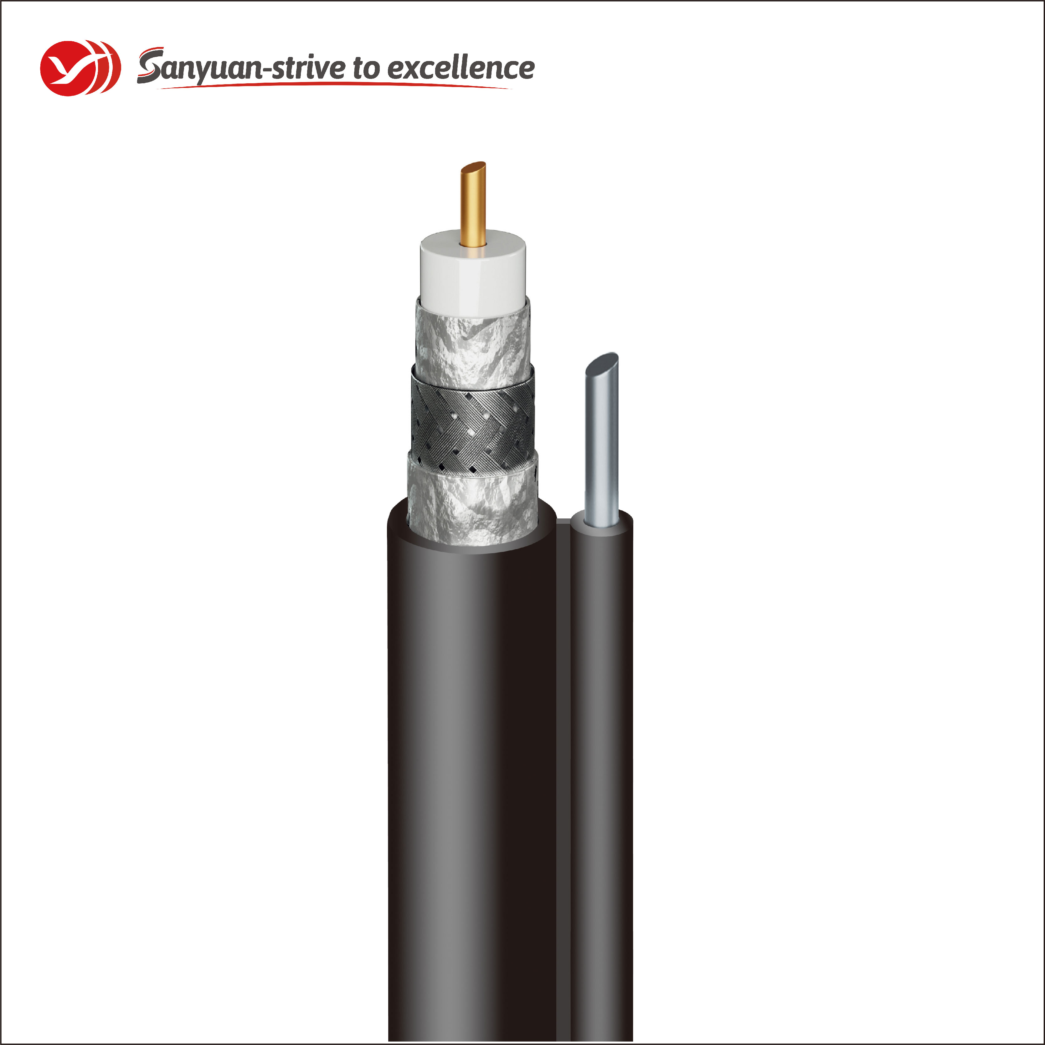 SanYuan easy to expand cable 75 ohm company for data signals-2